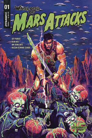 WARLORD OF MARS ATTACKS (2019) #1B
