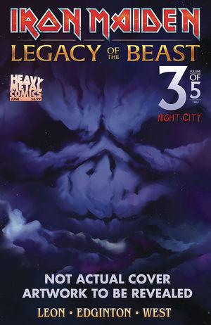 IRON MAIDEN LEGACY OF THE BEAST VOL 2 NIGHT CITY CVR B 3