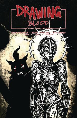 DRAWING BLOOD SPILLED INK CVR B EASTMAN 2