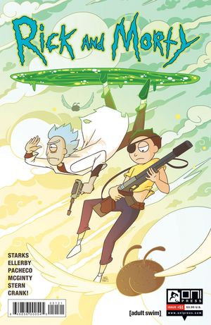 RICK AND MORTY (2015) #51B