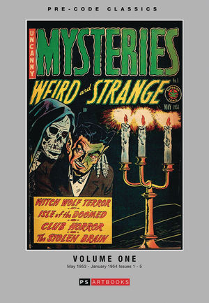 PRE CODE CLASSICS MYSTERIES WEIRD AND STRANGE HC VOL 01