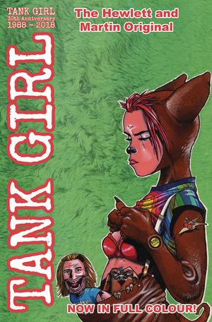 TANK GIRL FULL COLOR CLASSICS 1991-92 CVR B HEWLETT 4