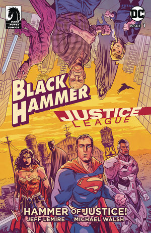 BLACK HAMMER JUSTICE LEAGUE (2019)