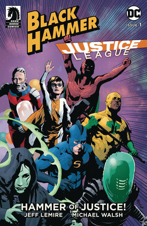 BLACK HAMMER JUSTICE LEAGUE (2019) #1B