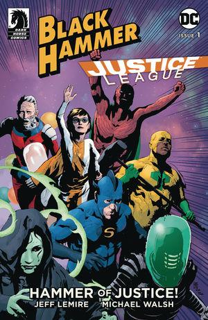 BLACK HAMMER JUSTICE LEAGUE (2019) #1B