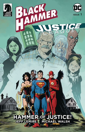 BLACK HAMMER JUSTICE LEAGUE (2019) #1D