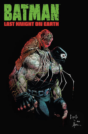 BATMAN LAST KNIGHT ON EARTH (2019) #2