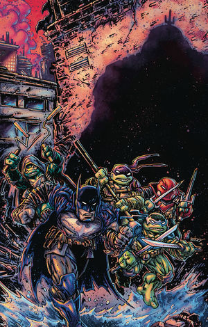 BATMAN TEENAGE MUTANT NINJA TURTLES III (2019) #3B
