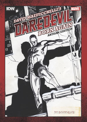 DAVID MAZZUCHELLIS DAREDEVIL BORN AGAIN ARTISAN ED #1