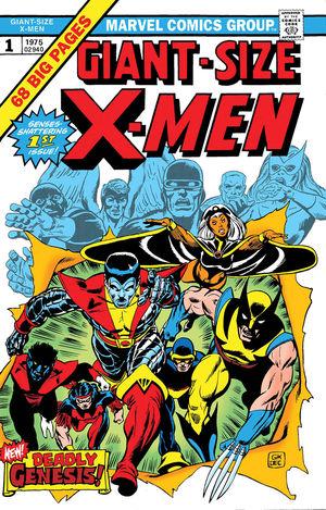 GIANT SIZE X-MEN FACSIMILE EDITION (2019) #1