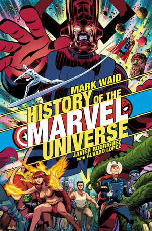 HISTORY OF MARVEL UNIVERSE (2019) #1B