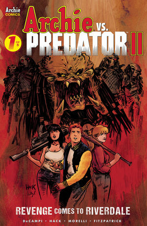 ARCHIE VS PREDATOR 2 (2019) #1