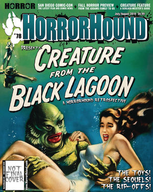 HORRORHOUND MAGAZINE (2006) #78