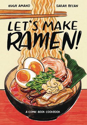 LETS MAKE RAMEN COMIC BOOK COOKBOOK (2019) #1