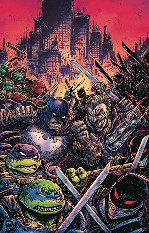 BATMAN TEENAGE MUTANT NINJA TURTLES III (2019) #4B