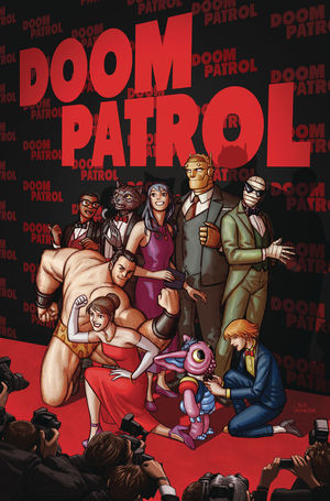 DOOM PATROL THE WEIGHT OF THE WORLDS (2019) #2