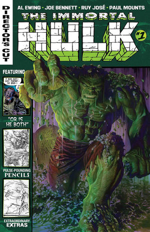 IMMORTAL HULK DIRECTORS CUT (2019) #1