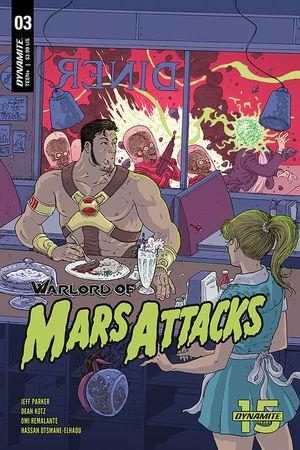 WARLORD OF MARS ATTACKS CVR C VILLALOBOS 3C