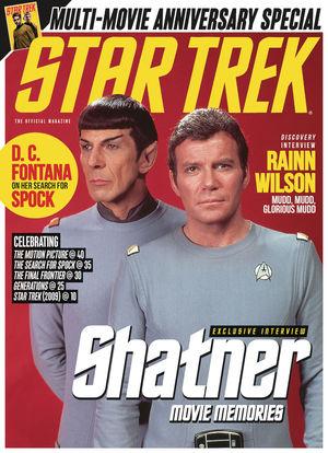 STAR TREK MAGAZINE NEWSSTAND ED #72