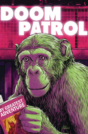 DOOM PATROL THE WEIGHT OF THE WORLDS (2019) #3