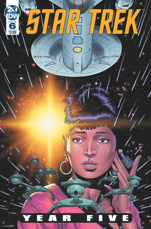 STAR TREK YEAR FIVE (2019) #6
