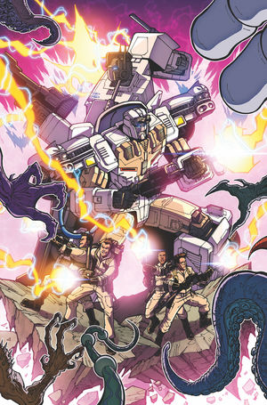 TRANSFORMERS GHOSTBUSTERS (2019) #4B