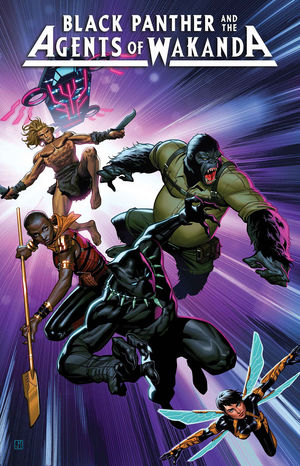 BLACK PANTHER AND AGENTS OF WAKANDA (2019) #1