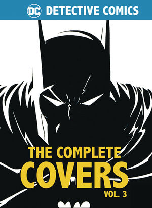DC COMICS DETECTIVE COMICS COMP COVERS MINI HC #3