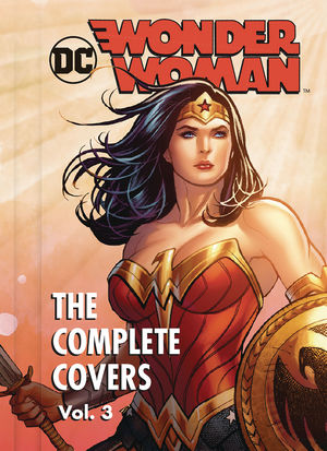 DC COMICS WONDER WOMAN COMP COVERS MINI HC #3
