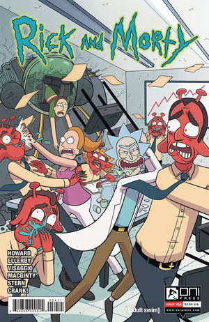 RICK AND MORTY (2015) #54