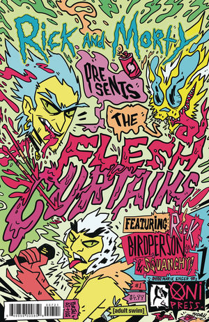 RICK AND MORTY PRESENT FLESH CURTAINS (2019) #1B