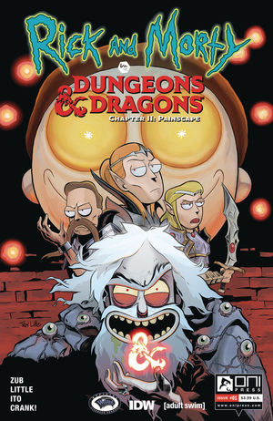 RICK AND MORTY VS D&D II PAINSCAPE (2019) #1