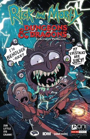 RICK AND MORTY VS D&D II PAINSCAPE (2019) #1B