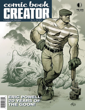 COMIC BOOK CREATOR (2013) #21