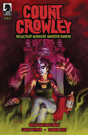COUNT CROWLEY RELUCTANT MONSTER HUNTER (2019) #1