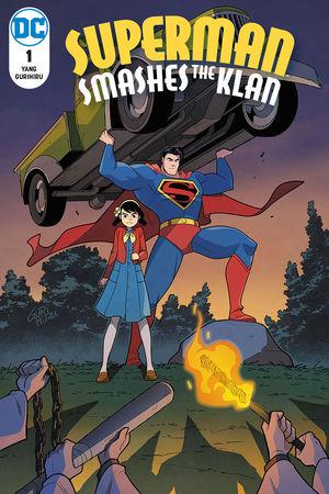 SUPERMAN SMASHES THE KLAN (2019) #1