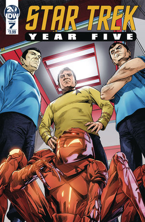 STAR TREK YEAR FIVE (2019) #7