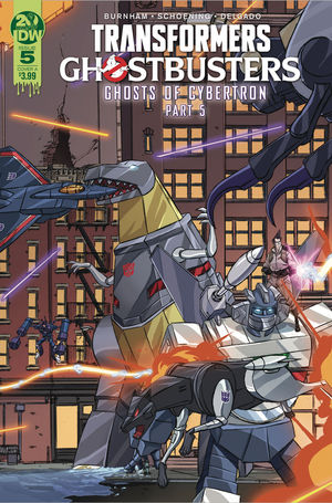 TRANSFORMERS GHOSTBUSTERS (2019) #5