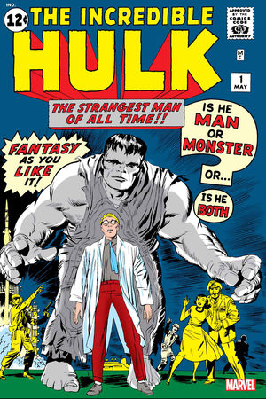 INCREDIBLE HULK FACSIMILE EDITION 1