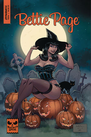 BETTIE PAGE HALLOWEEN SPECIAL ONE SHOT (2019) #0B