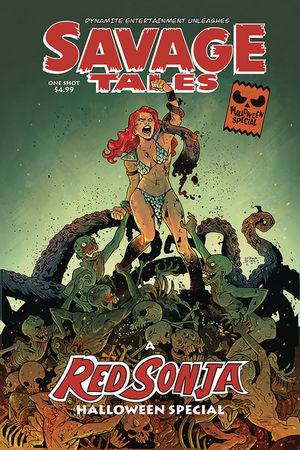 SAVAGE TALES HALLOWEEN SPECIAL ONE SHOT (2019) #0