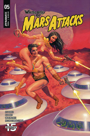 WARLORD OF MARS ATTACKS CVR A HILDEBRANDT 5