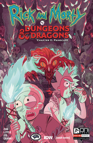 RICK AND MORTY VS D&D II PAINSCAPE (2019) #2B
