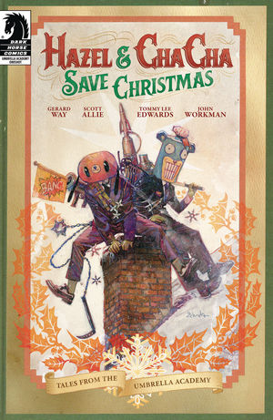HAZEL AND CHA CHA SAVE CHRISTMAS TALES UMBRELLA AC #1