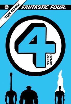 FANTASTIC FOUR GRAND DESIGN TPB (2019) #1