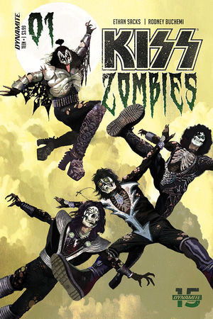 KISS ZOMBIES (2019) #1