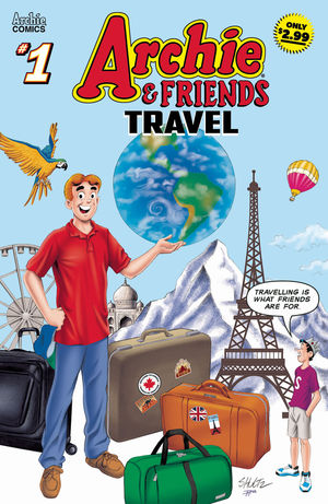 ARCHIE AND FRIENDS TRAVEL 1