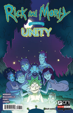 RICK AND MORTY PRESENTS UNITY (2019) #1