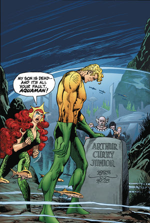 AQUAMAN DEATH OF A PRINCE DELUXE ED HC #1