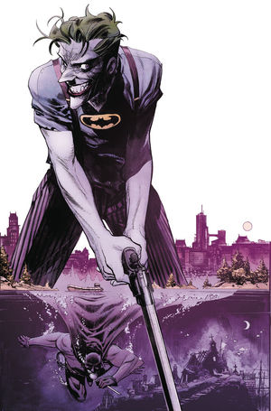 BATMAN CURSE OF THE WHITE KNIGHT (2019) #5